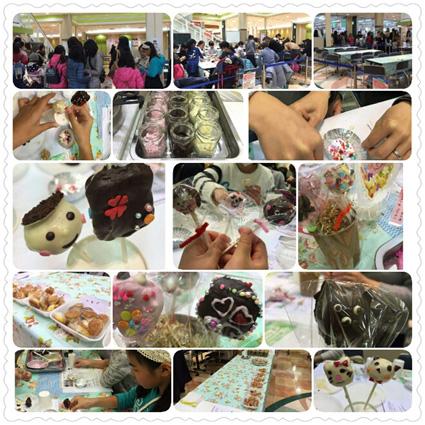 ケーキポップス手作り教室